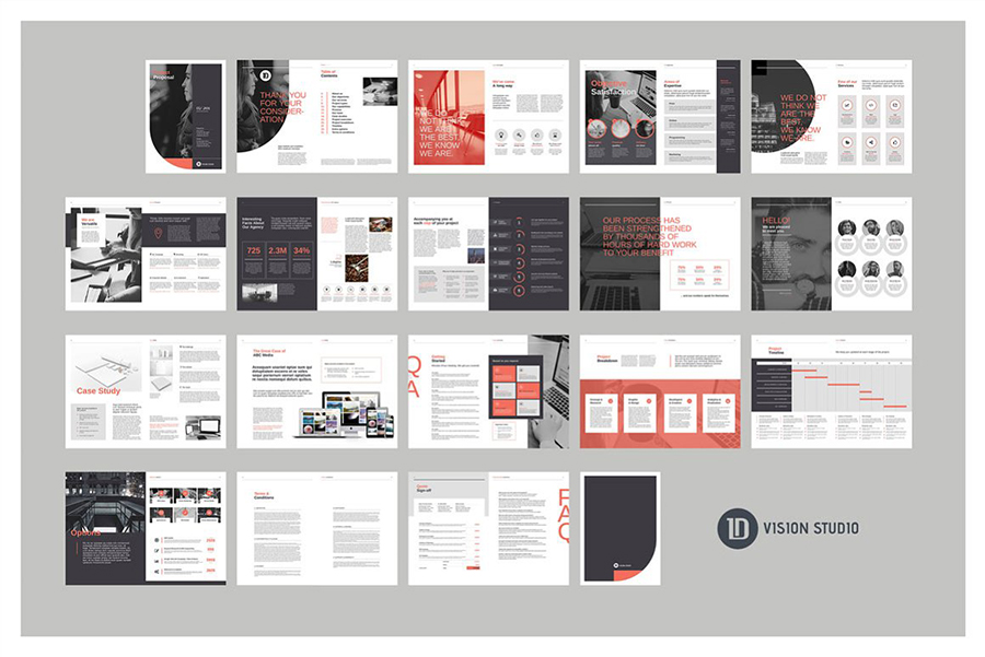 Dynamic Project Proposal Template