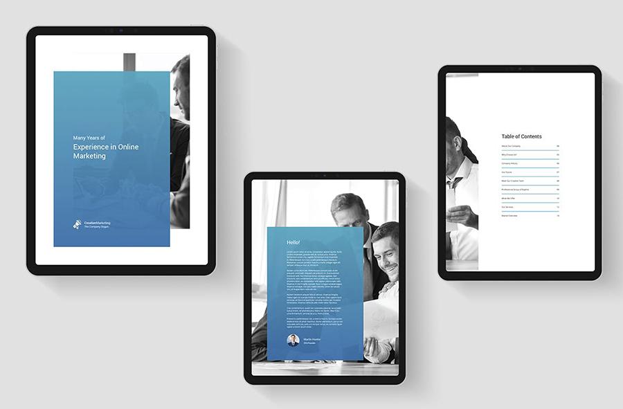 Creative Marketing – eBook Company Profile