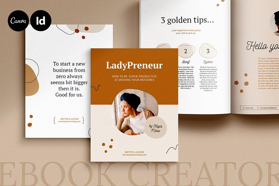 Kayla InDesign eBook Template