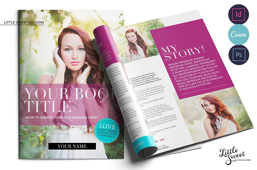 Fashion and Beauty InDesign eBook Template