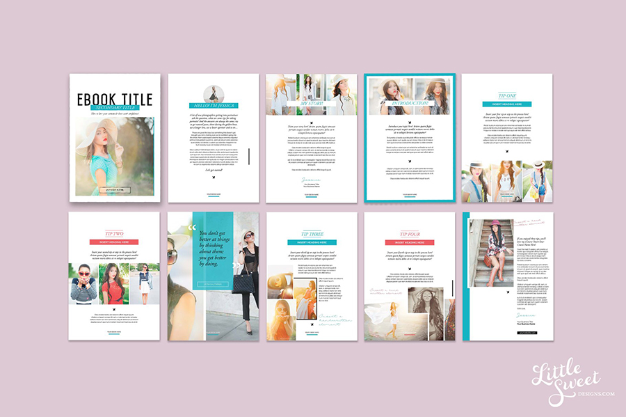 Magazine/eBook InDesign Template