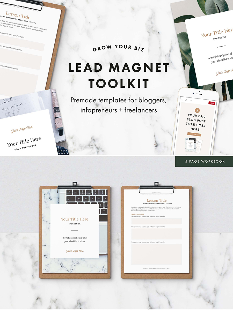 Lead Magnet Toolkit Bundle