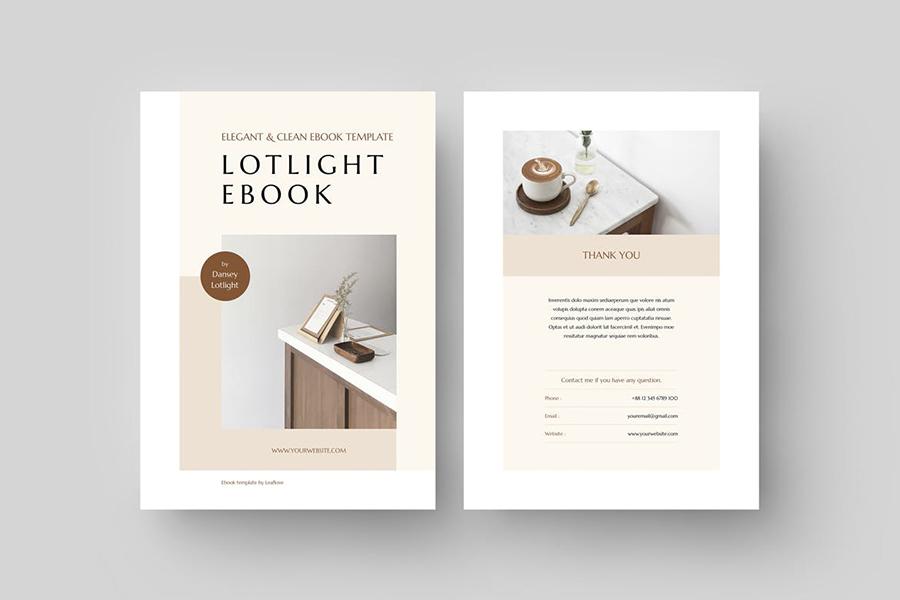 Modern InDesign eBook Template