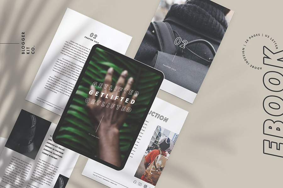 eBook Template | Adobe InDesign | 28 Pages