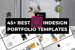 Best INDD Indesign Portfolio Templates