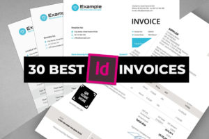 Best INDD Indesign Invoice Templates