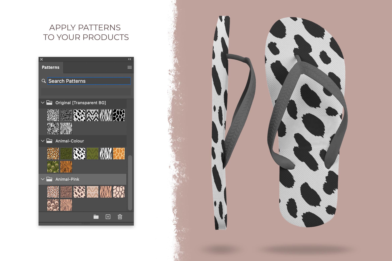 Vector Animal Print Patterns for Photoshop & Illustrator