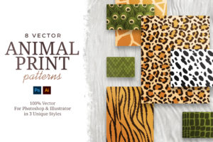 Vector Animal Print Patterns
