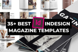 Best INDD InDesign Magazine Templates