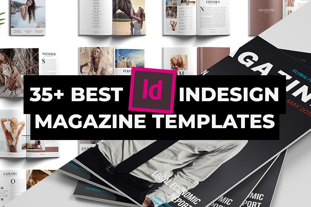 Best INDD InDesign Magazine Templates