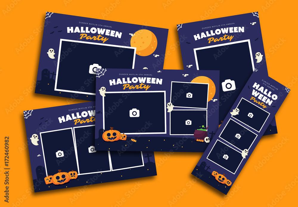 Halloween Photo Booth Layout