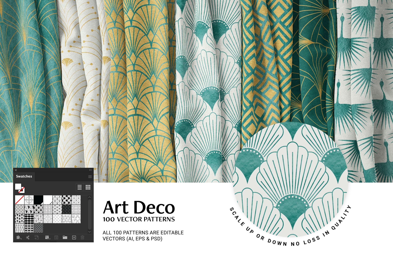 Art Deco Pattern Mockup