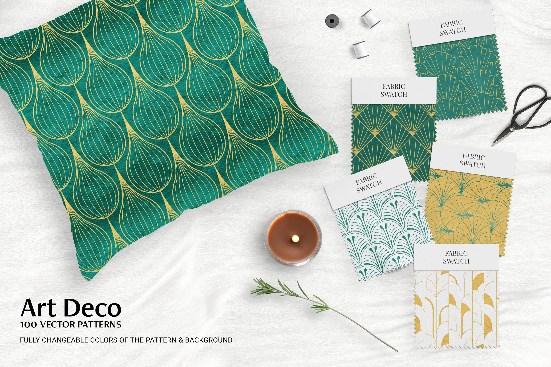 Art Deco Patterns Mockup