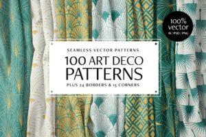 Art Deco Patterns for Photoshop & Illustrator