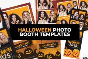 Best Halloween Photo Booth Templates
