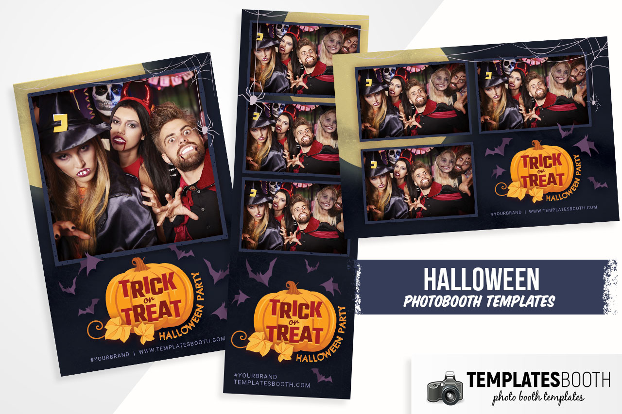 Trick or Treat Photo Booth Template