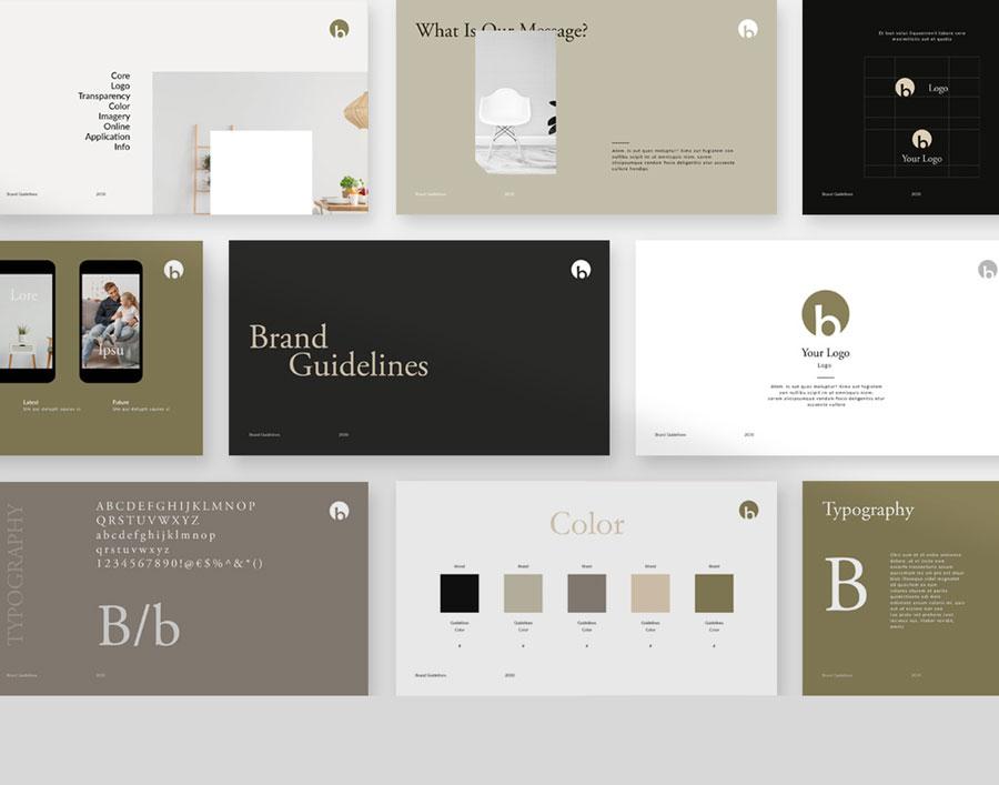 Brand Guiedline Presentation