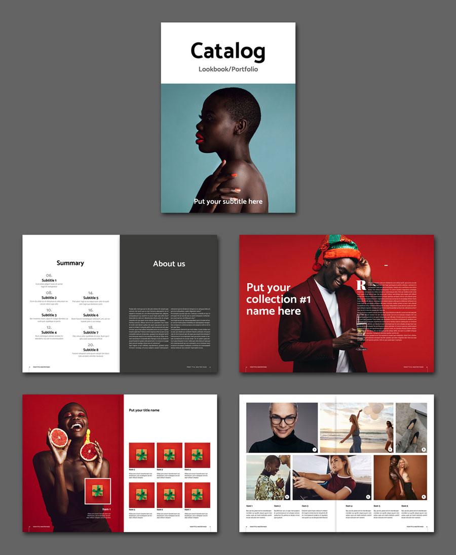 Catalog Lookbook Layout