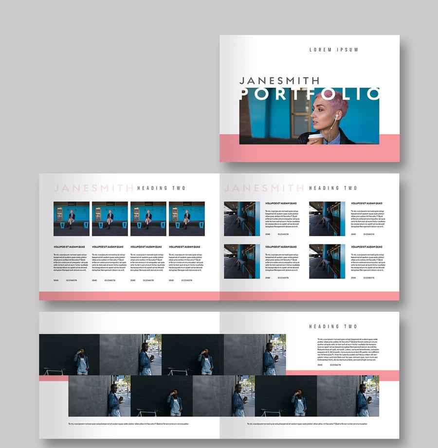 Portfolio Lookbook Layout