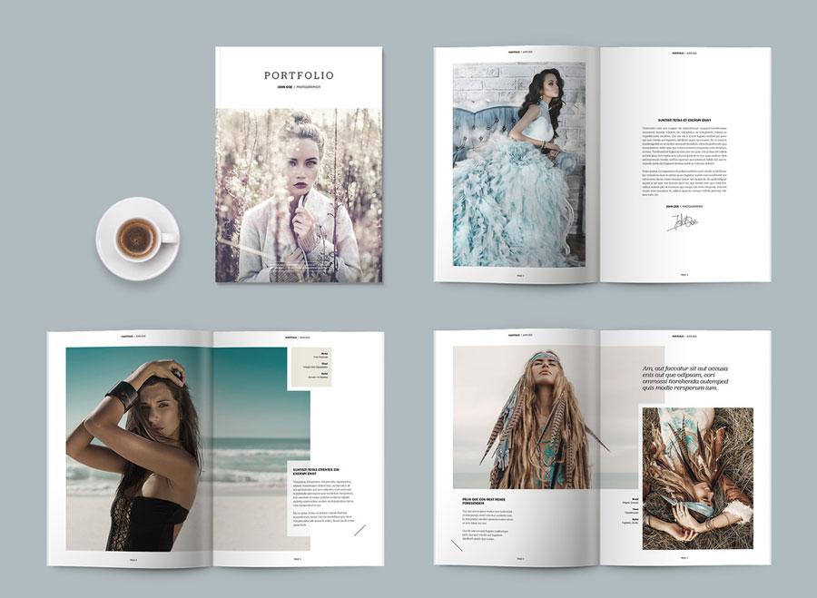 Portfolio/Magazine Layout