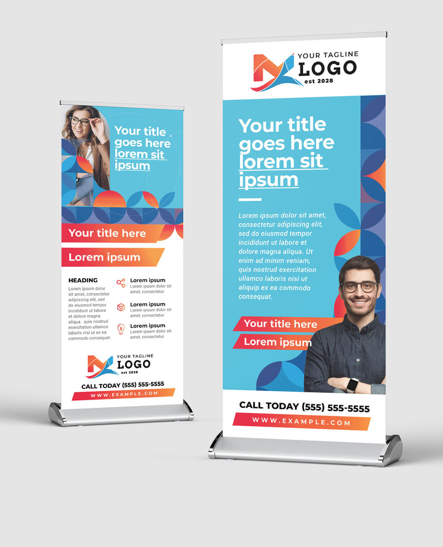 Roll Up Banner for Business Events and Seminars
