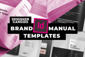 InDesign INDD Brand Manual Templates