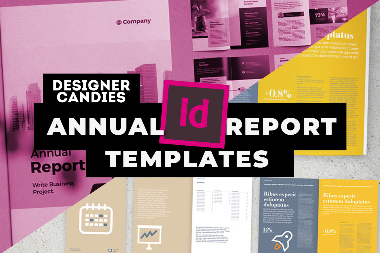 Top InDesign Annual report Templates