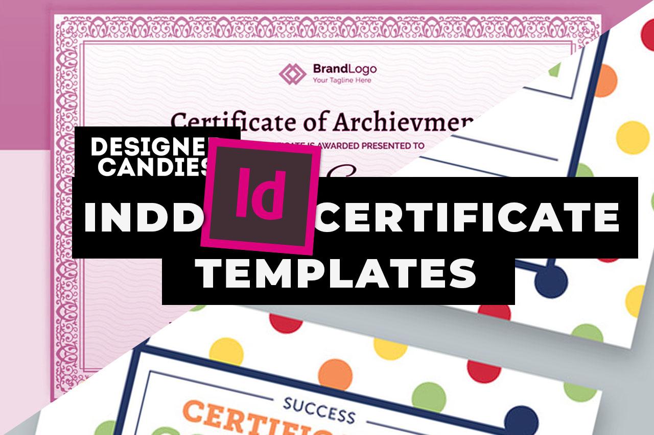 Top InDesign Certificate Templates