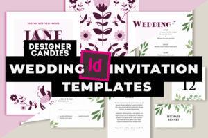 Top InDesign Wedding Invitation Templates
