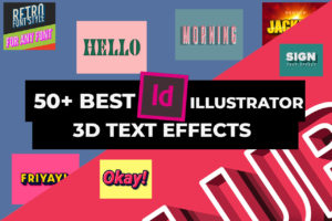 Cool 3D Text Effects for Adobe Illustrator