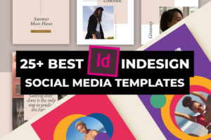 Social Media Templates for InDesign