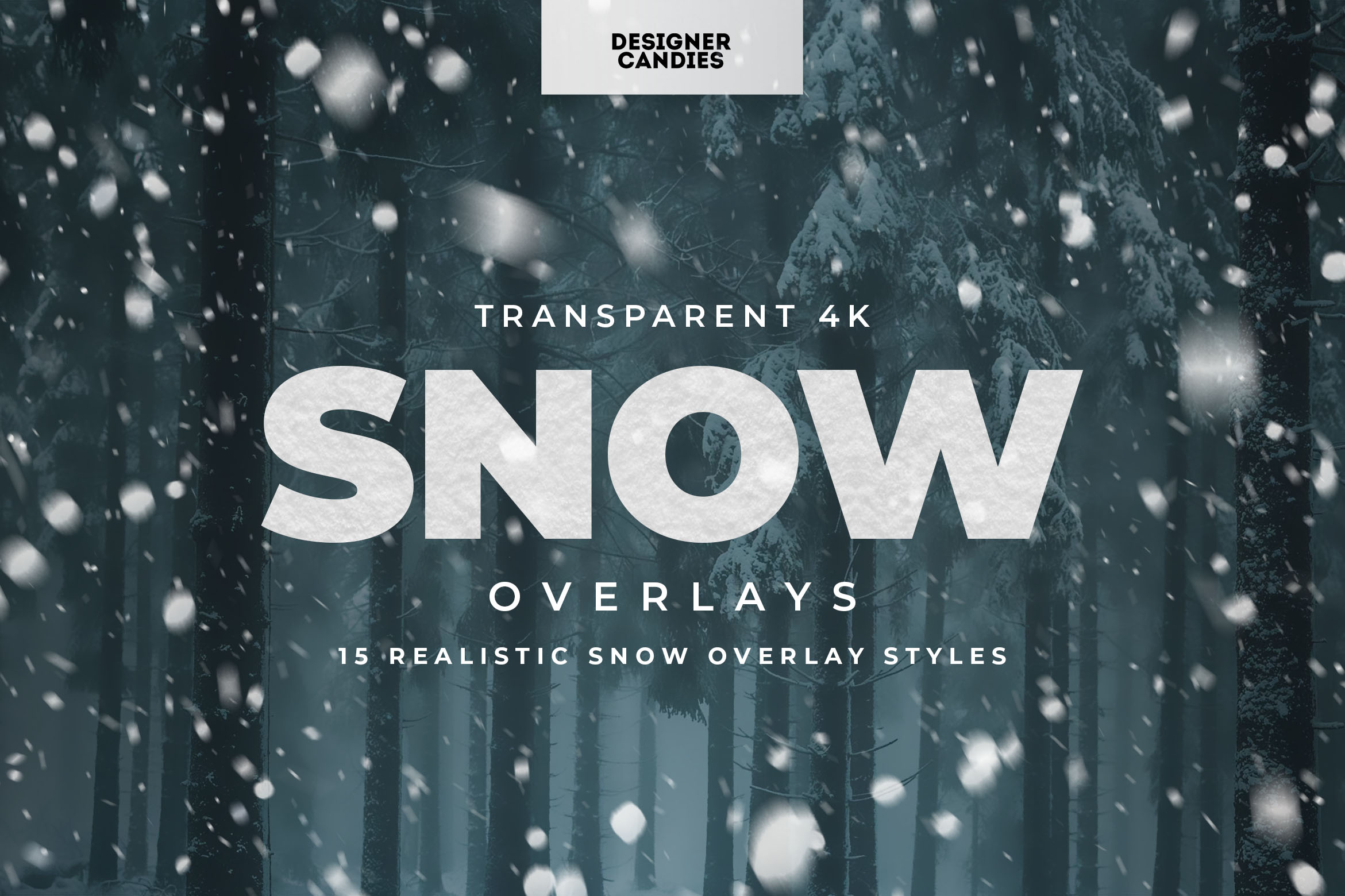 PNG Snow Overlays Pack